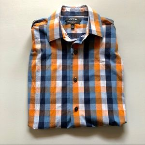 Apt 9 Checkered Slim Fit Button Down